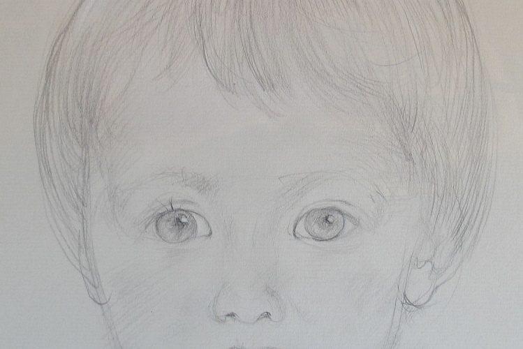 BELLMER-Portrait de Sandrine d'Halluin