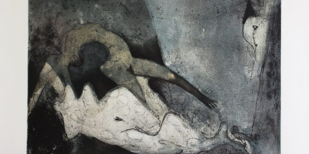 DOROTHEA TANNING-Nue couchée