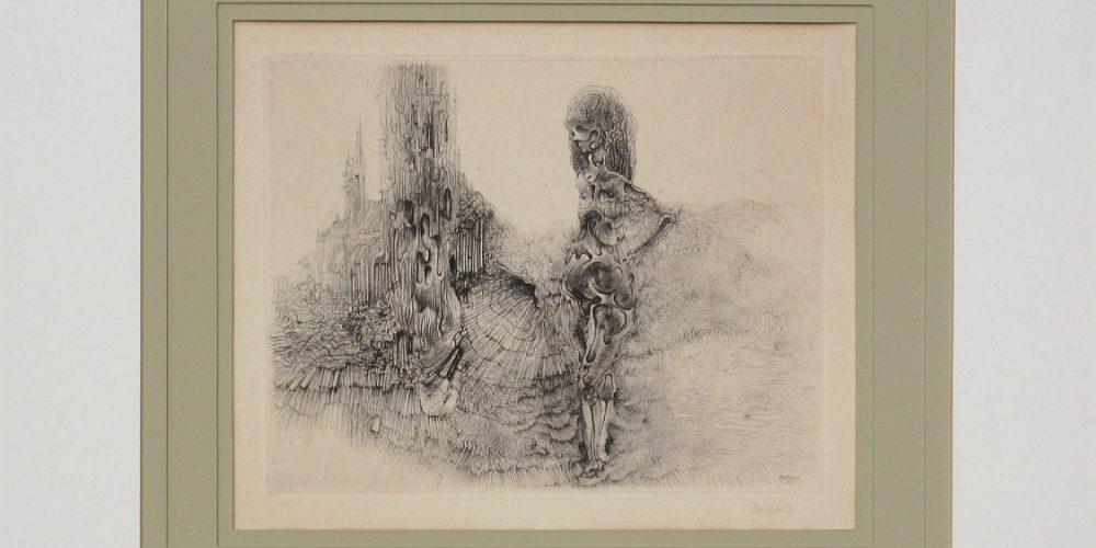 HANS BELLMER-Le Vermoulu et le Plissé