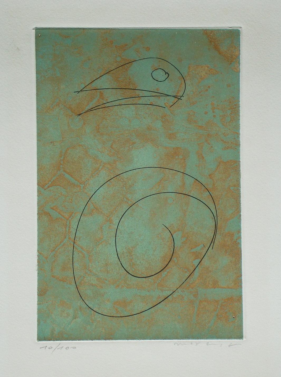 OISEAU VERT-1965