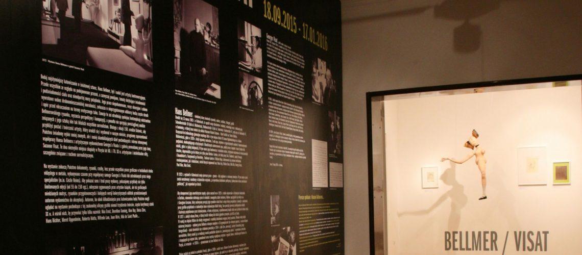 Exposition BELLMER-VISAT au Musée de la Ville de Katowice, Pologne du 18 septembre au 17 janvier 2016