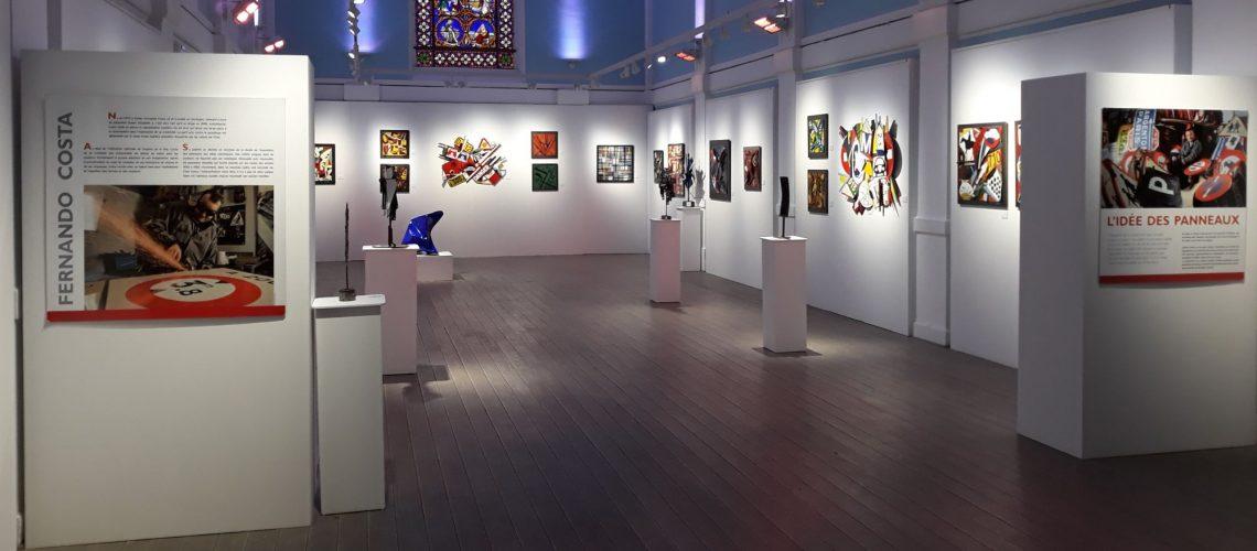 Exposition Costa Chapelle de la Persévérance à Pau du 29 janvier au 16 février 2019