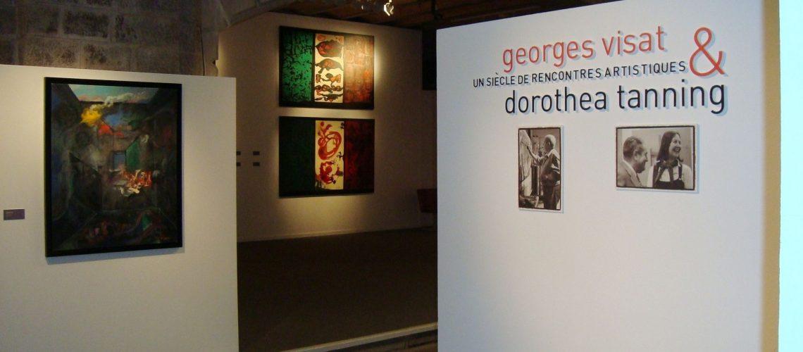 Exposition G.Visat & D. Tanning à la Crypte St Eugénie à Biarritz du 4 décembre au 30 janvier 2011