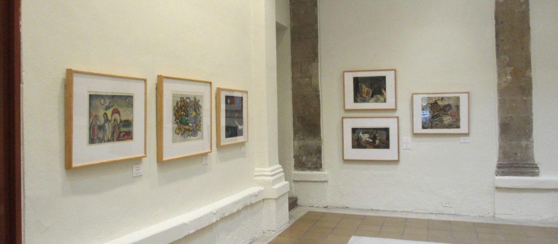 Exposition Georges Visat-El ojo surealista au Musée de l'Estampe de Mexico du 8 août au 24 novembre 2013
