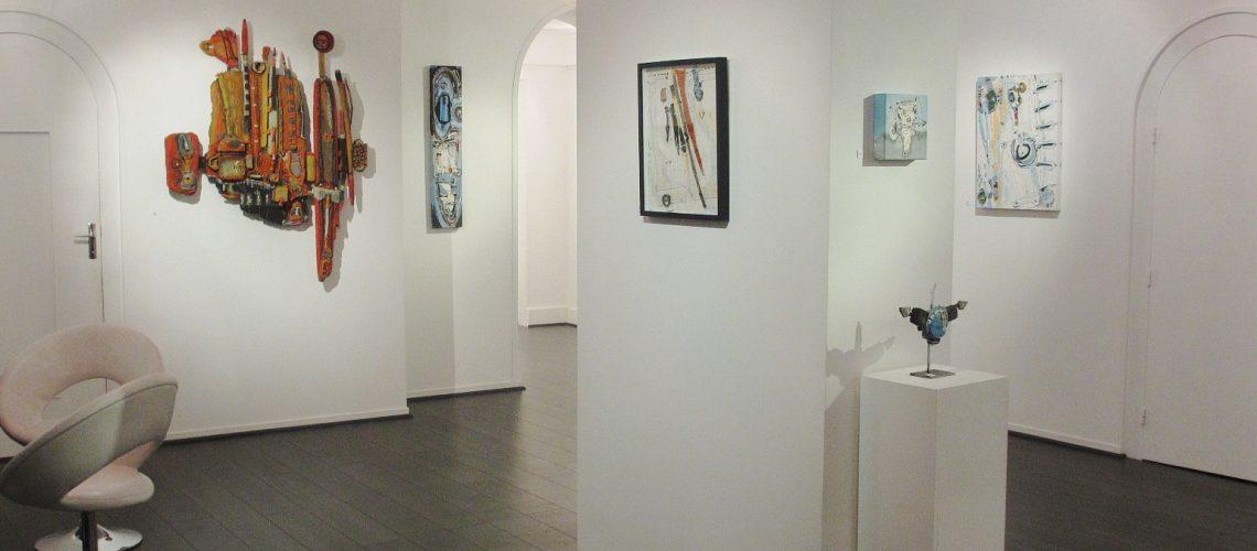 Exposition Patrick Chappert-Gaujal à GSN Galerie du 5 décembre au 5 janvier 2015