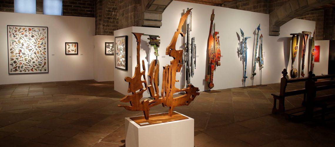 Exposition Patrick Chappert-Gaujal à la Crypte St Eugénie Biarritz du 17 décembre 2016 au 29 janvier 2017