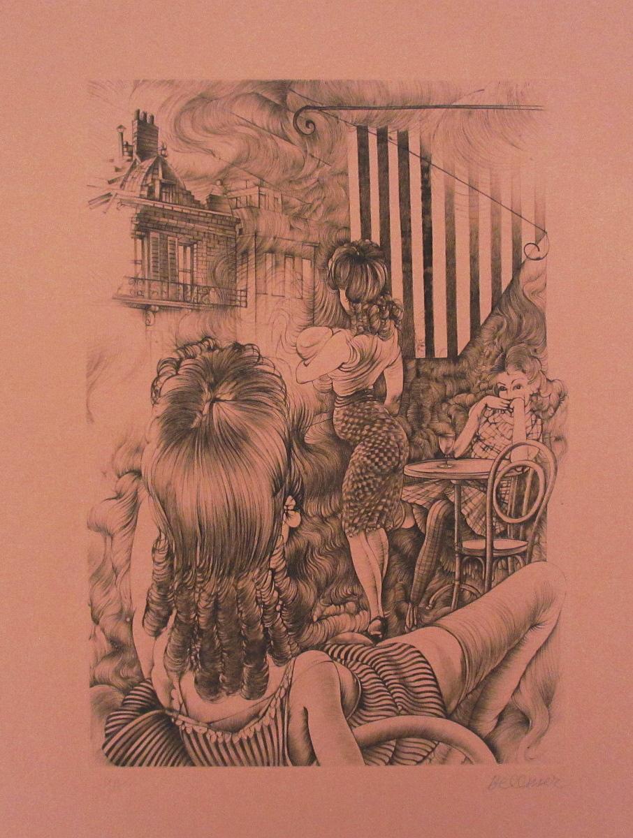 INCENDIE A MARSEILLE-1971