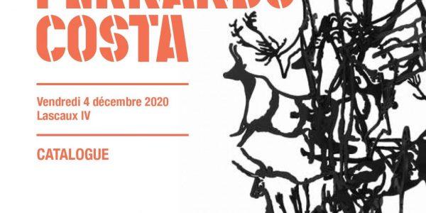 Compte tenu des conditions sanitaires, la vente aux enchères prévue le 4 décembre 2020 des oeuvres de Fernando Costa chez Artcurial est reportée au 5 novembre 2021.