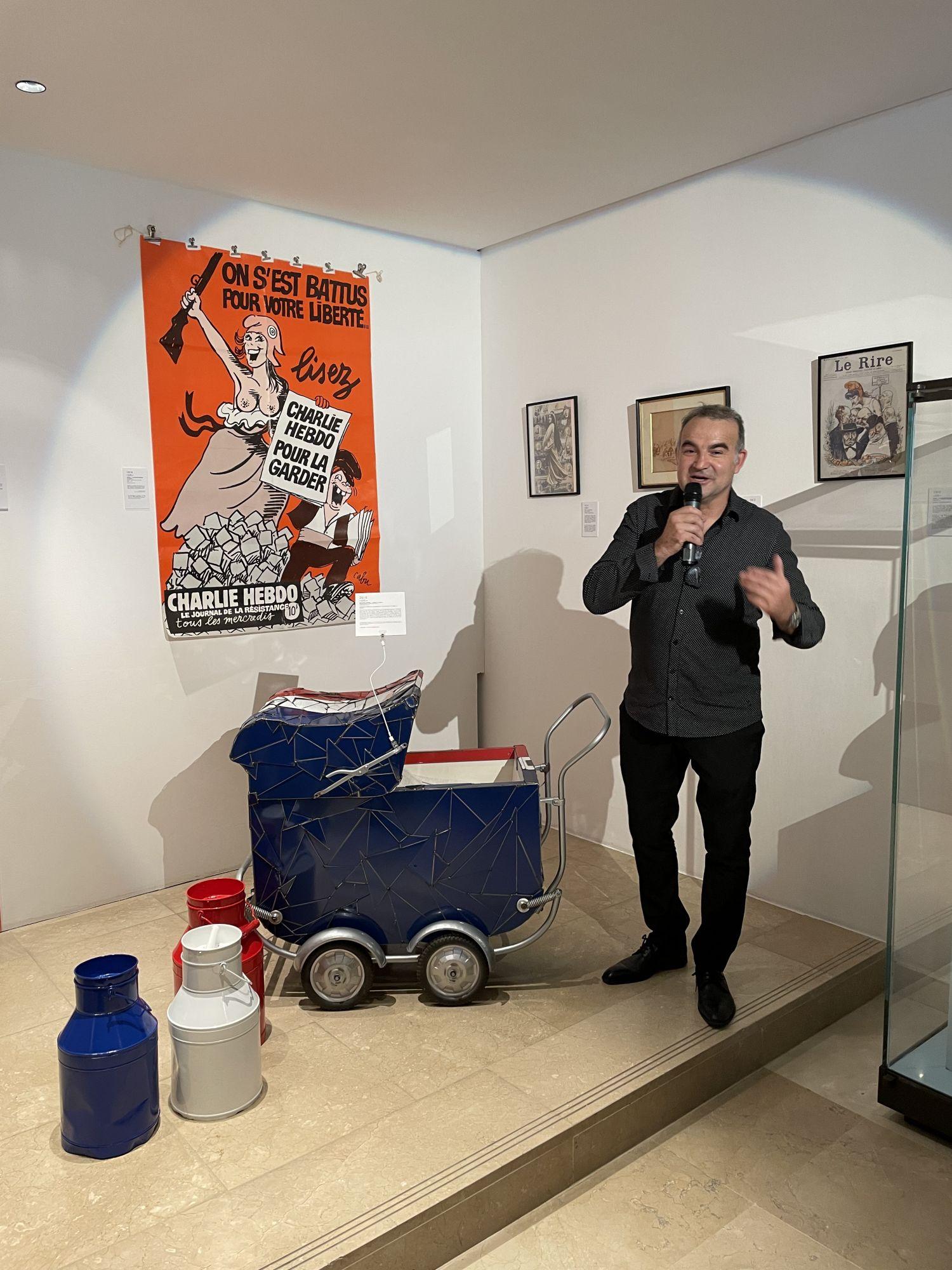 Fernando Costa à Saran au Musée du Président Jacques Chirac